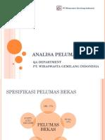 Analisa Used Oil - 2013[1]