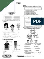 Inglés 1º ESO - U1-L3 - Face, Body, Family, Have Got, Possessive - Act - Oxford
