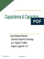 Capacitance %26 Capacitors
