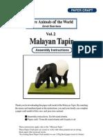 Tapir Asse
