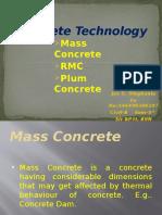 6107- Mass Concrete, RMC, Plum Concrete.pptx