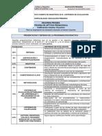 Primaria - Segunda Prueba CLM