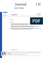 Official Journal of EU #81-2016