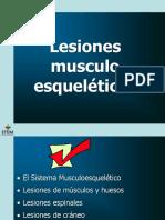 Cap.11 Lesiones musculoesqueléticas