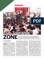 ZERO TOLERANCE ZONE-INDIA TODAY STORY