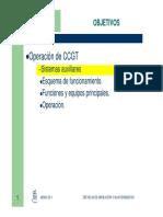 sistemas auxiliares CCGT