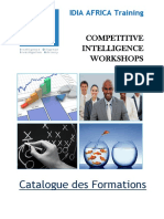 IDIA AFRICA Training_CI Workshops_Catalogue Des Formations