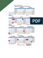 Calendario Laboral de Utebo 2015
