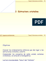 Tema 2-Estructura Cristalina