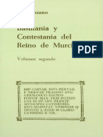 Bastitania y Contestania del Reino de Murcia volumen segundo