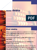 Bad Debts and Provision for Doubtful Debts-final