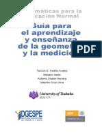 Guía Para El Aprendizaje y Enseñanza de La Geometria y La Medicion