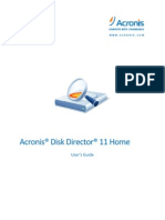 Acronis Disk Director 11 Home Userguide