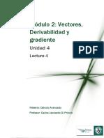 ParcialI-Lectura 4 - Derivación de Un Vector