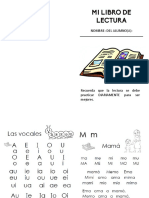 folletín de lectura básica por silabeo