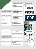 Visite Pastorale - Le programme