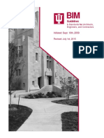 IU BIM Guidelines and Standards