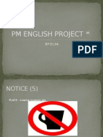 PM ENGLISH PROJECT 