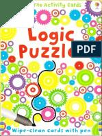 Logic Puzzles Usborne Activity Cards