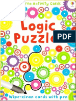 Logic Puzzles Usborne Activity Cards