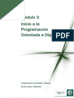 Lectura 4 - Inicio a La Programacion Orientada a Objetos