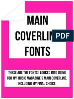 Main Coverline Designs