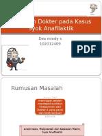 27_Syok Anafilaktik dan Kelalaian Dokter sesuai   Etika,.pptx