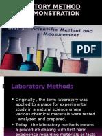 Laboratory Method and Demonstration