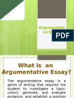 Argumentative Essay 16-17
