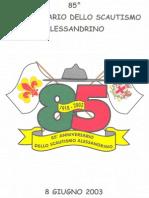 85 Scautismo Alessandrino
