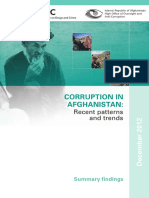 Corruption in Afghanistan FINAL