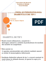 Patogeneza Si Fiziopatologia Diabetului de Tip i