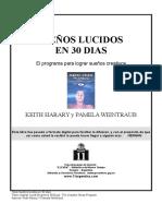 LIBRO Suenos Lucidos en 30 Dias