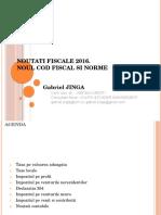 Curs 2016 NCF Si Norme v2