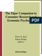 Elgar Consumers Psychology