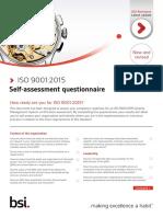 ISO 9001 FDIS Self Assessment Checklist FINAL July 2015