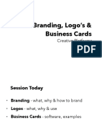 Branding, Logos and Business Cards