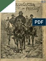 ALBUM DE LA GUERRA DEL PARAGUAY - ESTANISLAO ZEBALLOS - VOLUMEN I - PORTALGUARANI