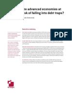 Are advanced economies at risk of falling into debt traps? Marek Dabrowski Executive summary