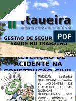 Prevenção de acidentes - tercerizados - Construção Civil.pptx