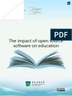 The Impact of Open Source Software on Education 18667-HK Open U