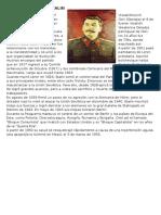 Biografía de José Stalin y Programa