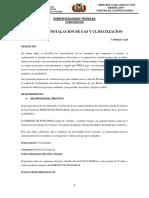 ESPECIFICACIONES TECNICAS  - CLIMATIZACION