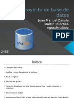 Proyecto de Base de Datos FULL