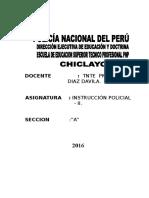 Syllabus Desarrollado Instruccion Policial II 2016