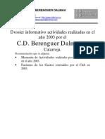 Dossier 2003