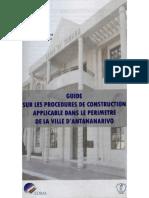 Guide Sur Les Procedures de Construction