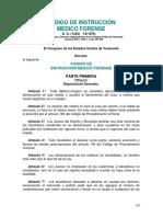 Código de Instrucción Medico Forense