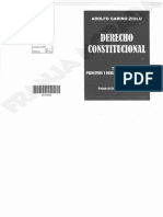 Derecho Constitucional. Ziulu T I