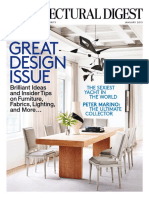 Architectural Digest - January 2015 USA